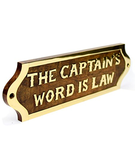 Nagina international captain 39 s word is law hand crafted for International home decor llc