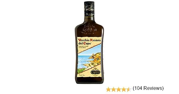 Caffo Amaro del Capo Vecchio - 700 ml: Amazon.es: Alimentación y ...