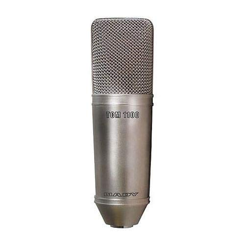 Nady TCM-1100 Studio Vacuum-Tube Condenser Microphone with 16' 7-pin XLR Cable & TMPS-1 Power Supply