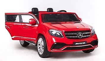 Riricar Mercedes Benz Gls 63 Rot Elektrisches Auto Für Kinder