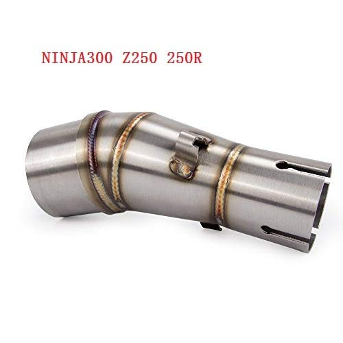 Amazon.com : Fincos Motorcycle Exhaust Middle Pipe for ...