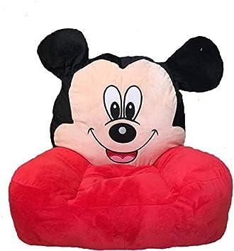 AVSHUB Premium Quality Soft & Stuffed Mickey Plush Sofa Seat Or Rocking Chair for Kids (45 cm)