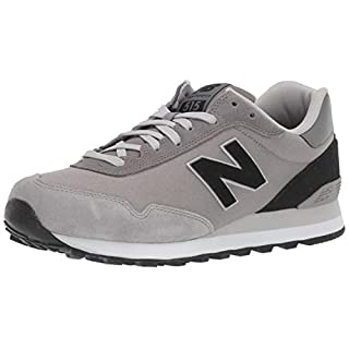 New Balance Men's 515 V1 Sneaker, Grey, 18 4E US