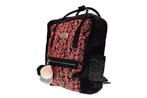 printed baroque backpack corallo Coral by Gioseppo Nero zHExqww5