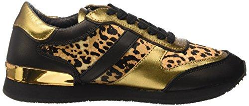 Schwarz Black Sneakers LS0094 Liebeskind Animal Damen Berlin wXYSfUq4