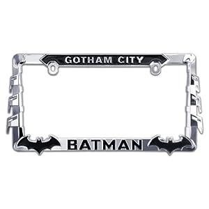 ELEKTROPLATE Batman 3D All-Metal License Plate Frame (BATMAN-LPF)
