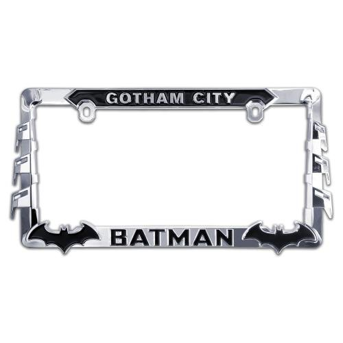 ELEKTROPLATE Batman 3D All-Metal License Plate Frame (BATMAN-LPF) (Accessories Auto Batman)