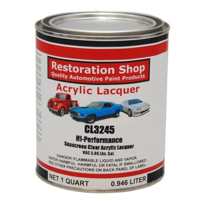 Restoration Shop High Performance Lacquer Sunscreen Clear