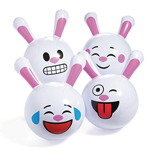 12- Emoji Easter Bunny Beach