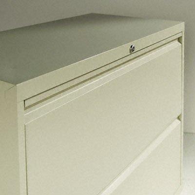 Alera ALELF3054BL Four-Drawer Lateral File Cabinet, 30w x 19-1/4d x 53-1/4h, Black