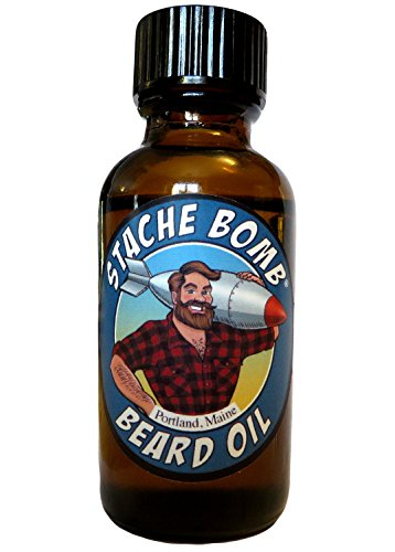 Stache Bomb Beard Oil- Beard Oil From (Movember Cause)