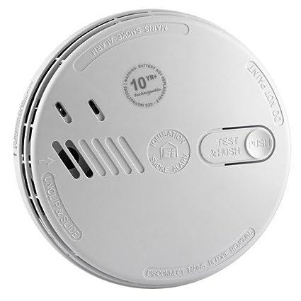 Detector de humos de red eléctrica Aico, Ei161