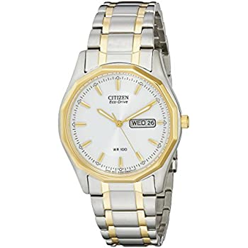 Citizen Mens Eco-Drive Sport Watch with Day/Date, BM8434-58A