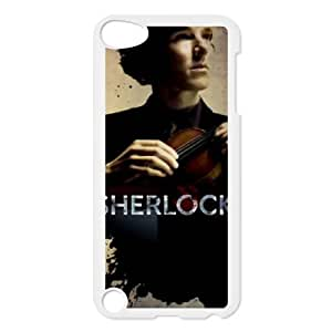 ipod 5 phone cases White Sherlock fashion cell phone cases YEDS9181454