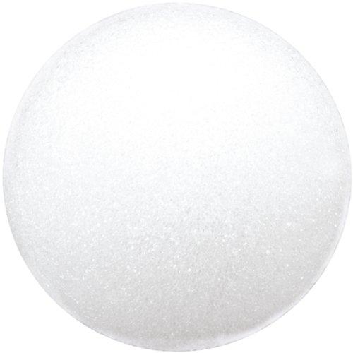 - Floracraft Styrofoam Ball, 6-Inch, White