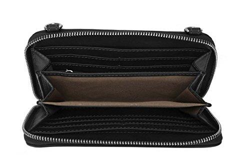 Tracolla Pu Frizione Otomollnuova Bag Crossbody Borsa Sera Moda Borse 2 A Portamonete Donne Pezzo Black xwTYSROT