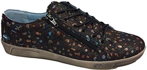 Cloud Footwear Womens Aika Fashion Sneaker (9.5 B(M) US-10 B(M) US/41 EU, Bubbles)
