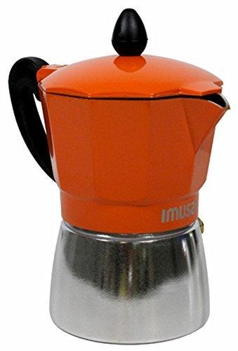 Espresso Coffee Maker Stove Top 3 Cup Capacity Imusa