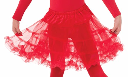 Forum Novelties Child Size Red Crinoline Petticoat Tutu ()