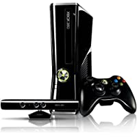 Console Xbox 360 4GB Slim + Kinect Sensor + Game Kinect Adventures + Controle sem fio