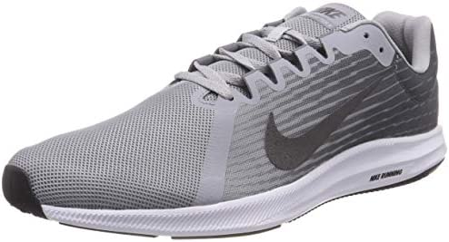 Nike Men s Downshifter 8 Running Shoe, Wolf Grey Metallic Dark Grey Cool Grey, 6.5 Regular US