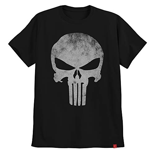 Camiseta O Justiceiro The Punisher Caveira Clássica XG