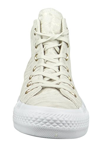 Converse All Star Hi W chaussures Buff Buff White