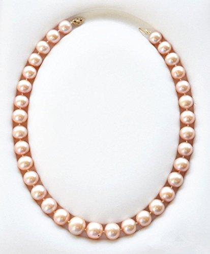 Genuine Akoya Pearl Necklace - 6