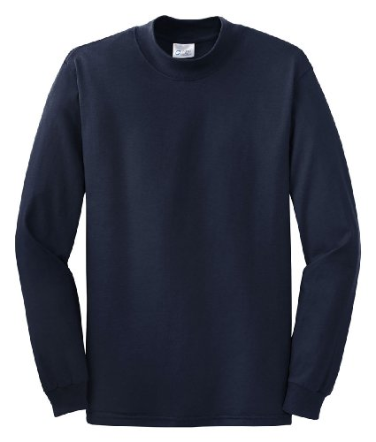 Port & Company Men's Mock Turtleneck - XX-Large - Navy by PORT AND COMPANY