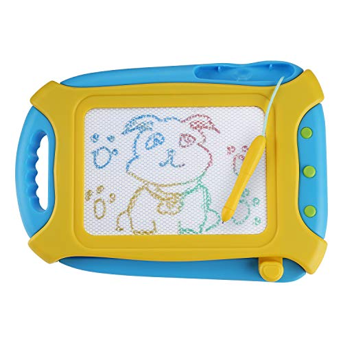Tarcat Magnetic Drawing Board Sketch Erasable Pad Magna Doodle Kids Toddlers Writing Painting Learning Toy Boys Girls Travel Size Skill Development
