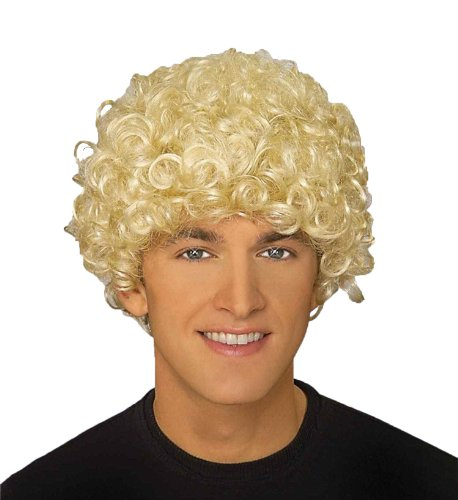 Forum Novelties Men's Adult Costume Harpo Wig, Blonde, One (Marx Brothers Costumes)