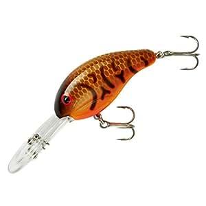 Bandit Crank 300-Series 2-Inch Crawfish 8 to 12-Feet Deep Bait (Orange)