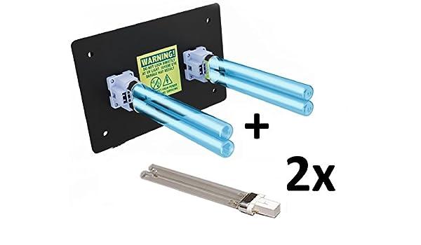 Purificador de aire para toda la casa, luz UV en conducto para ...