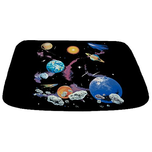 Bathmat Large Solar System And Asteroids by Royal Lion
