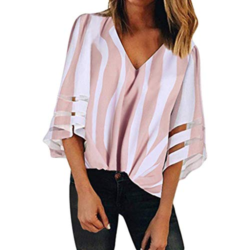 HIRIRI Soft Casual Women Blouse Long Sleeve Hollow Out Ladies Shirt V-Neck Solid Color Crop Top