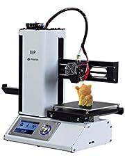 Monoprice MP Select Mini 3D Printer V2, with Australian Plug Heated Build Plate, Includes Micro SD Card and Sample PLA Filament - White