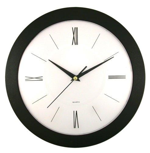 Timekeeper Products LLC Round Roman Wall Clock, 12
