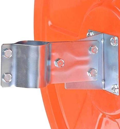 カーブミラー 交通凸面鏡、HD PCフレームワークLndoor広角スーパーマーケット盗難防止取りつけ金具を含む地下ガレージミラー45センチメートル60センチメートル80センチメートル100センチメートル、 RGJ1-14 (Size : 600mm)