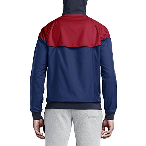 university obsidian White WINDRUNNER Chaqueta M red multicolor NSW Nike hombre para 8F6R0