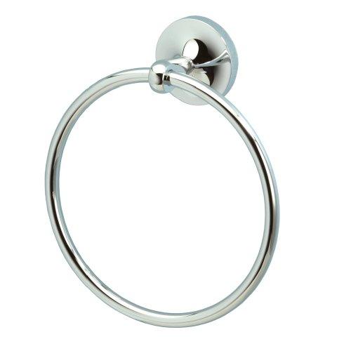 Gatco 4562 Dove Brass Towel Ring, Chrome