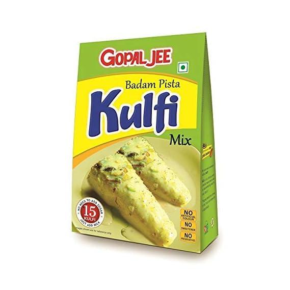 GOPALJEE Kulfi Mix (Badam, Pista, Elaichi Flavour) 150g