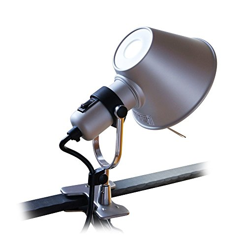 Tolomeo Mini Wall (MODO CL-01 Silver Color Clip On Task Aluminum Light)