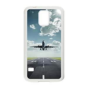 Airplane Takeoff Design Discount Personalized Hard Case Cover for SamSung Galaxy S5 I9600, Airplane Takeoff Galaxy S5 I9600 Cover