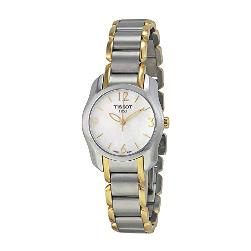(Tissot T-Wave Two-Tone Women's watch #T023.210.22.117.00)