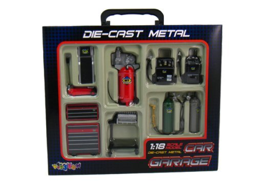 Die-cast Metal Car Garage Accessories 1:18 Scale by