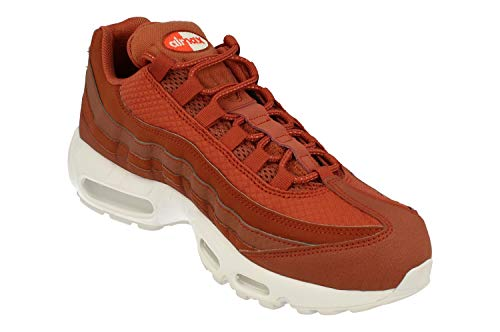 Nike Air Max 95 Premium SE Mens Running Trainers 924478 Sneakers Shoes (UK 7.5 US 8.5 EU 42, Dusty Peach White 200) by Nike (Image #3)