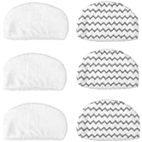 LepoHome 6 Pack Washable Steam Mop Pads Replacement for Bissell Powerfresh 1940 Series, 1544A, 2075A, 1440, 1940W, 19404, 1806, 1940A, 5938, 19408, 1940Q