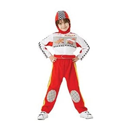 Rubie s 883868S Official Deluxe Cars Race Suit Costume 6b86a9b6abf