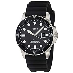 Fossil Analog Black Dial Men's Watch-FS5660