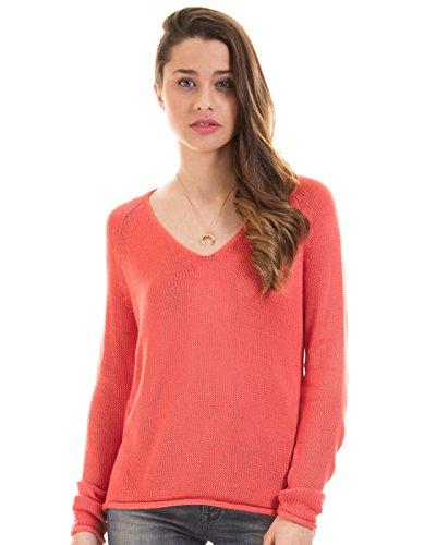 M Clothes flat V by Coral Vila VITOBINA neck knit nn0qw17B